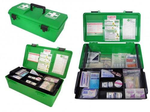08SA2SGP First Aid Kit  portable green box